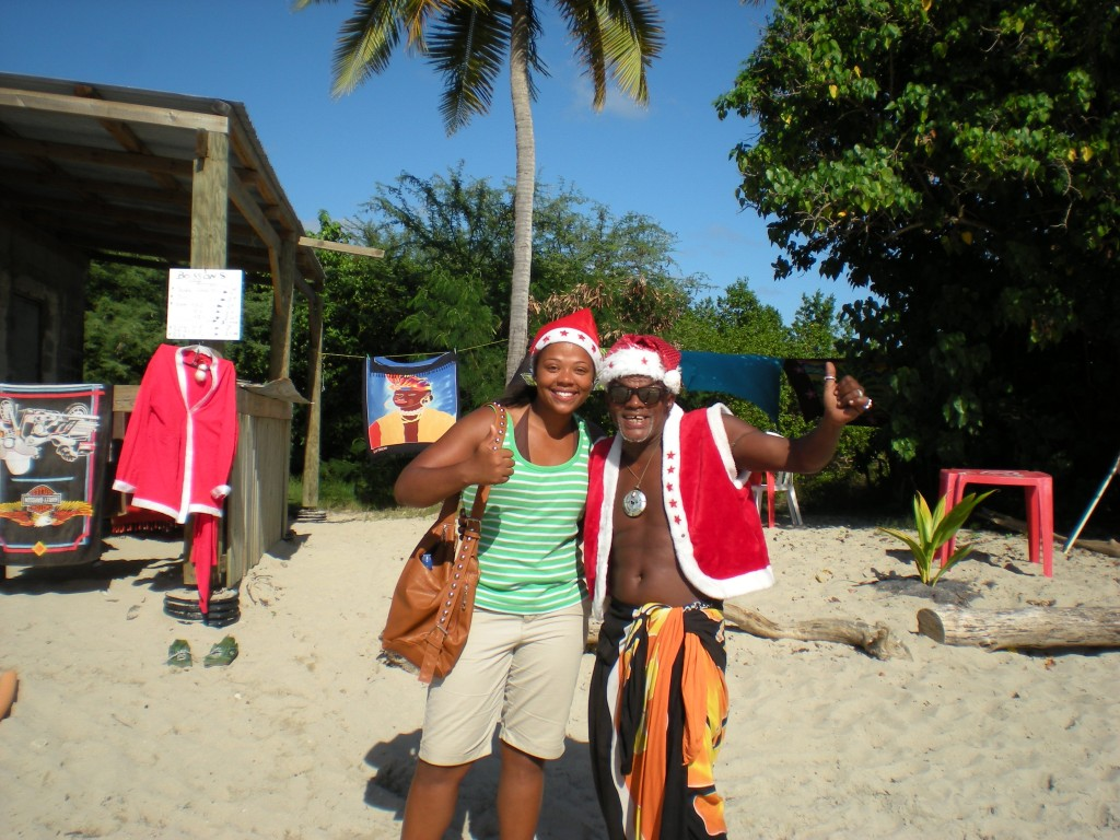 Happy Holidays, Christmas, Noel, Anse Meunier, Martinique