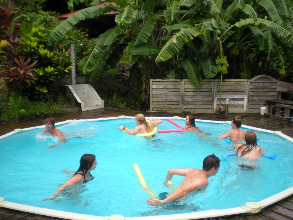 Pool, Piscine, in Sainte Anne Martinique