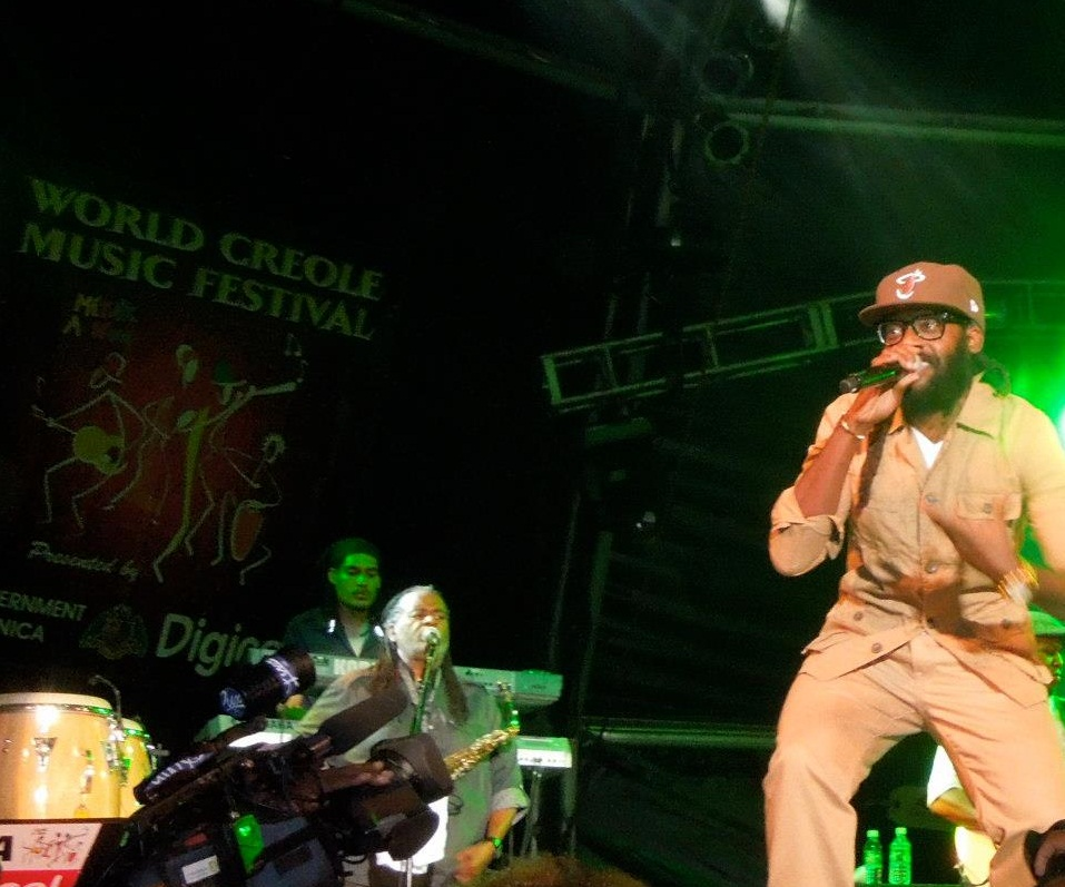 Tarrus Riley, World Creole Music Festival. Dominica