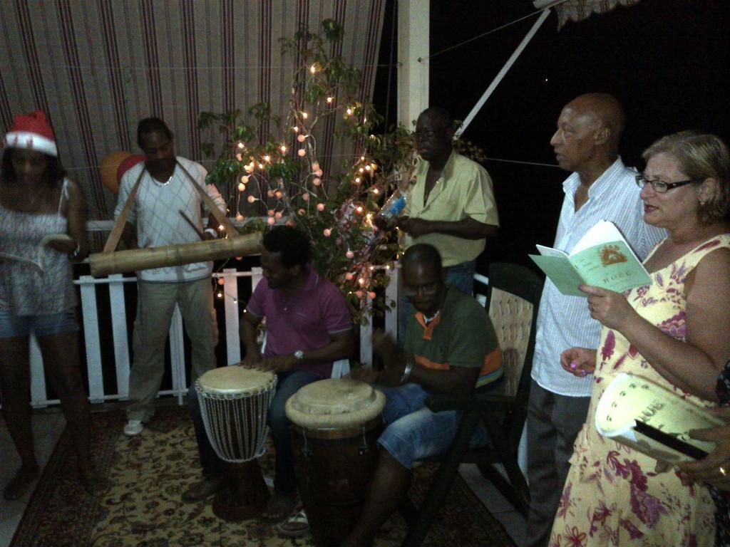 Traditional family Christmas celebration in Martinique, le Noel traditionnel en famille en Martinique