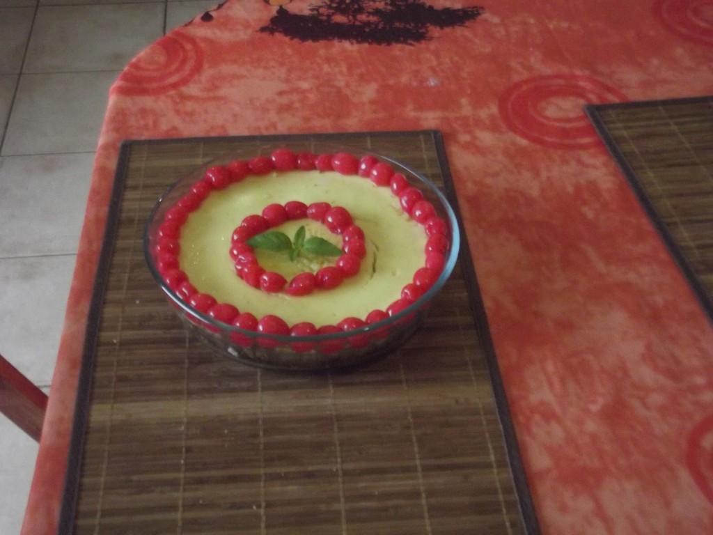Cheesecake in Martinique