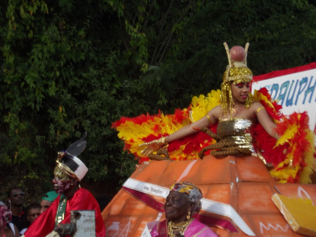 Mini-reine de Carnaval, Martinique