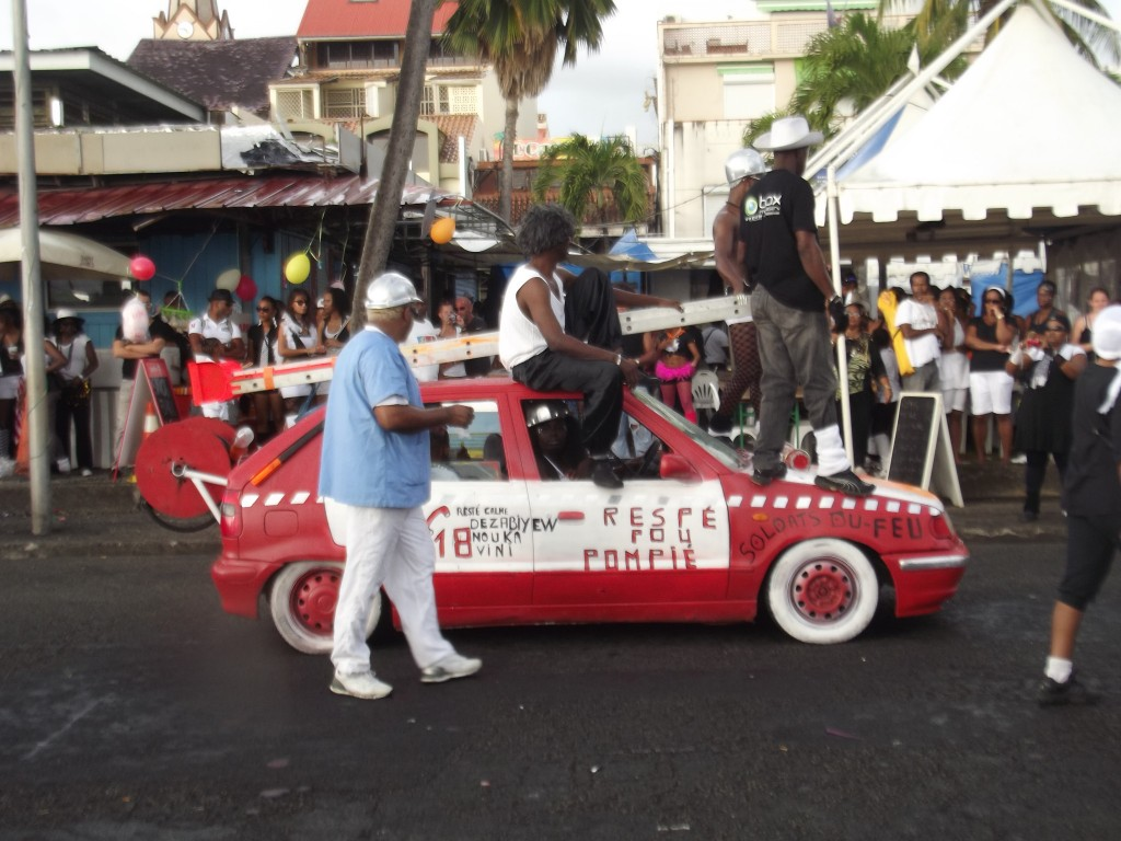 Bwadjack, Carnaval, Martinique