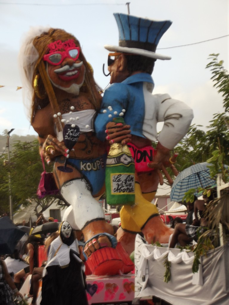 gay community in martinique, sex in martinique, Vaval 2013: Koupé and Fyon, Martinique, Carnaval