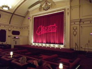 Vintage theatre in Notting Hill
