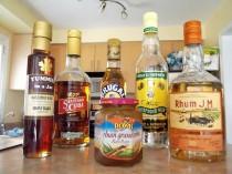 Rum jam, Rhum J.M, Rum maple syrup, Wray & Newphews
