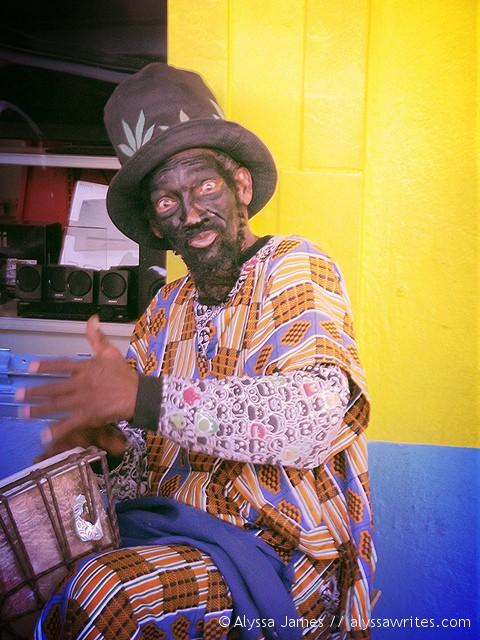 Dominica Street Performer