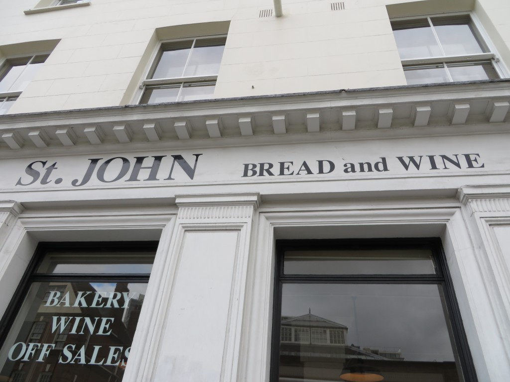 ST JBW, St John Bread and Wine
