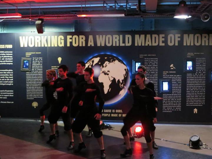Hard shoe Irish Dancing at Guinness Storehouse, Dublin
