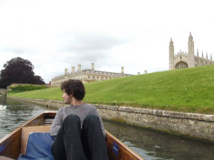 I learned to punt in Cambridge this year