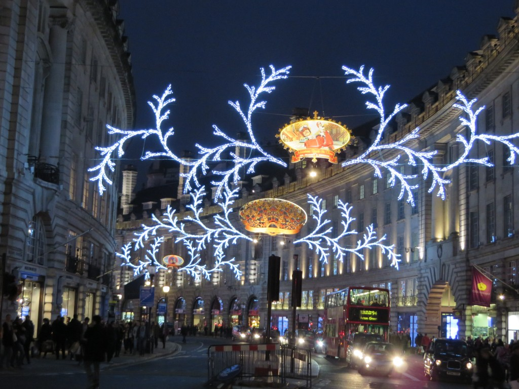 Christmas Lights on Oxford Street