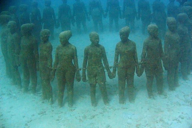 Underwater Sculpture Park - Moliere Bay, Grenada