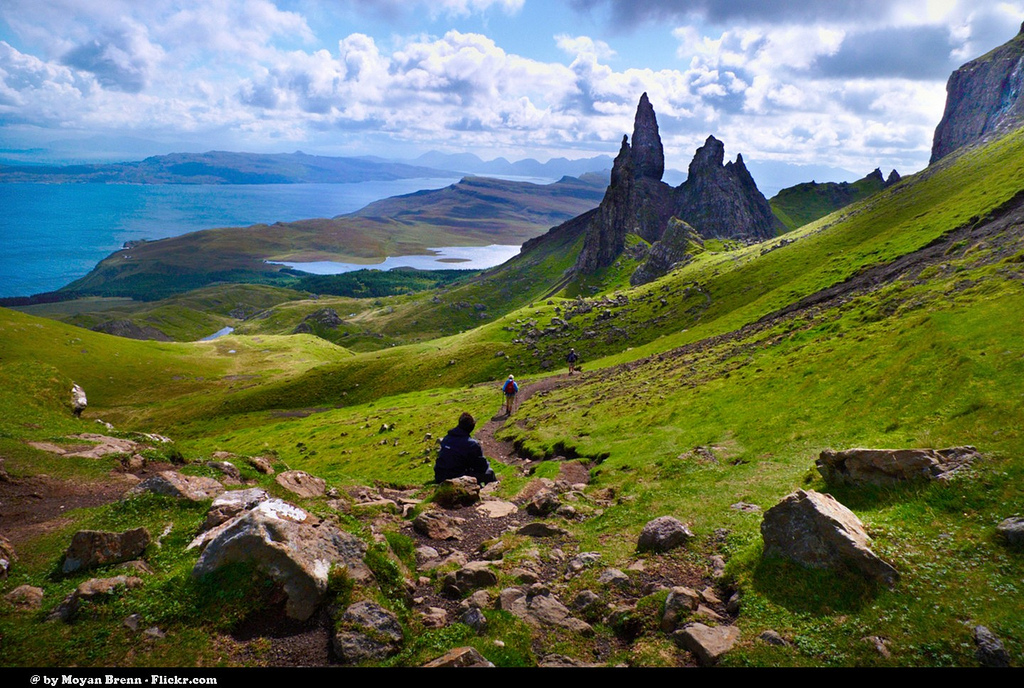 Scotland, landscape, Isle of Skye