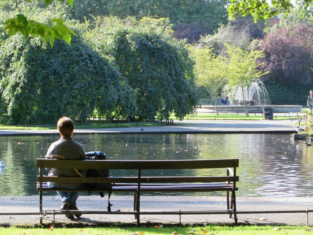 St Stephen's Green, Dublin, Ireland