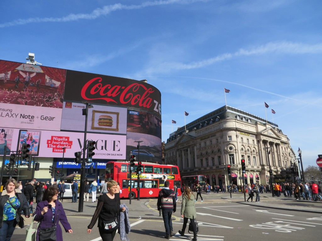 Piccadilly Circus, things to do in London