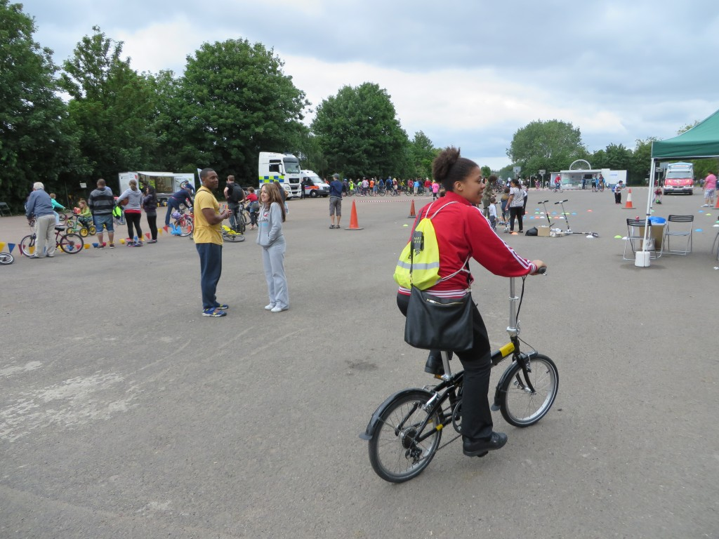 Cycle to Work Scheme, Tern Bike, Finsbury Park Cycling Festival, Rider to Work Scheme