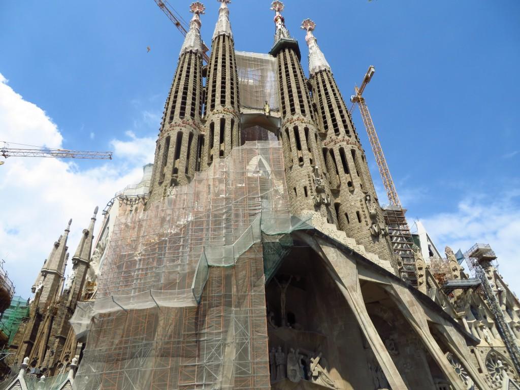 Sagrada Familia, Barcelona, Gaudi, Spanish History