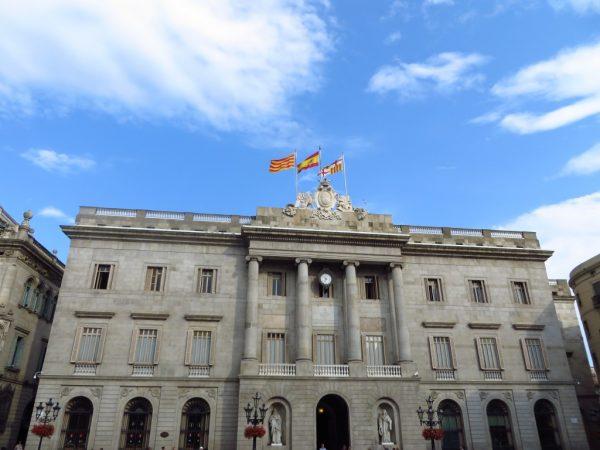 Plaza Sant Jaume - La Plaza del Ayuntamiento de Barcelona
