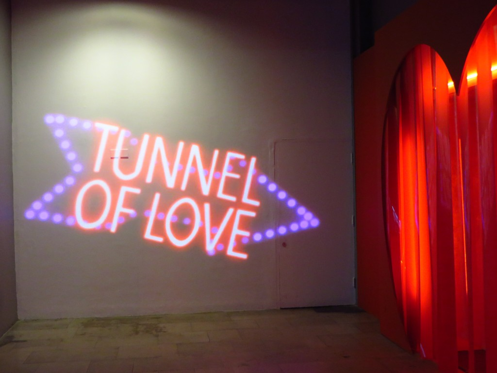 Tunnel of Love, Royal Festival Hall, Southbank, London, Festival of Love