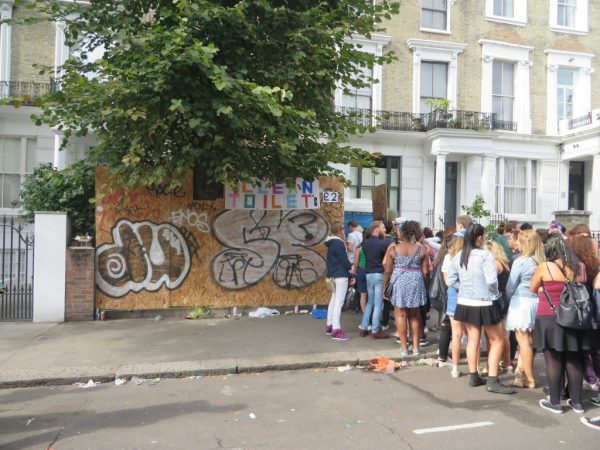 Toilets, Notting Hill Carnival 2014