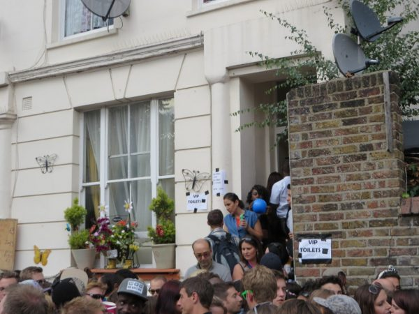 Toilets, Notting Hill Carnival 2014