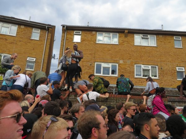 Crowd at Notting Hill Carnival 2014, London