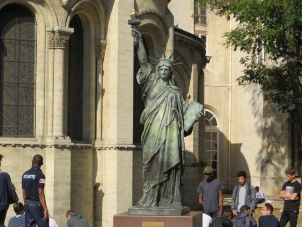 Statue of Liberty in Paris, Arts et Metier museum