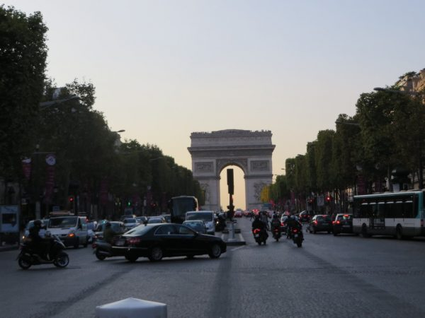 Arc de Triomphe, Champs Elysee, Paris