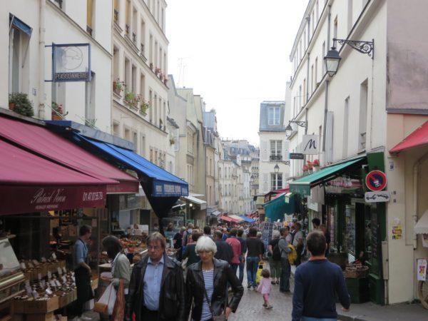 Rue Mouffetard, Paris, street market