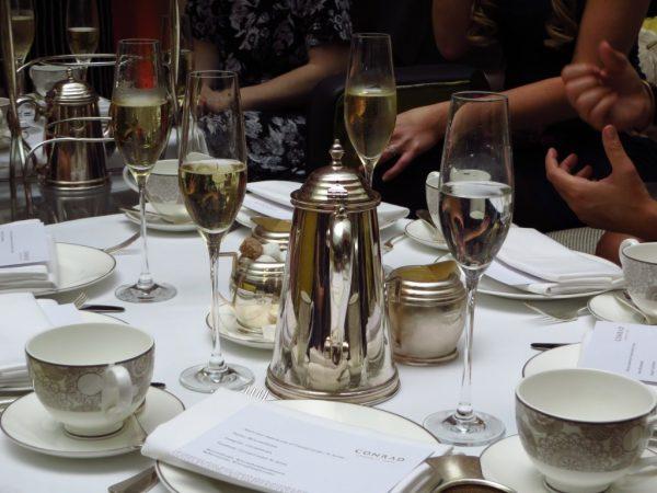 Laurent Perrier champagne, London Bloggers Tea