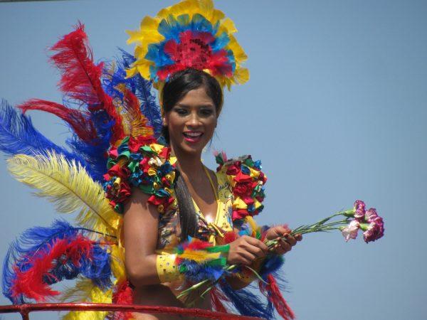 Carnaval de Barranquilla, colombia in february