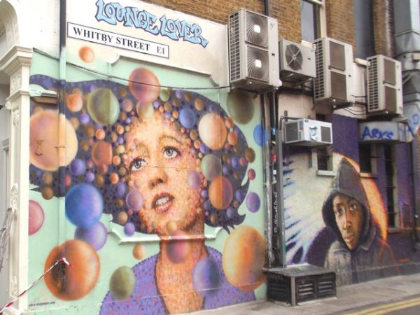 london apps, street art in london, street art london app