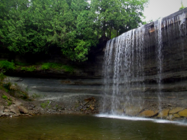 bridal veil falls, things to do in manitoulin island, day trips from toronto, things to do in toronto