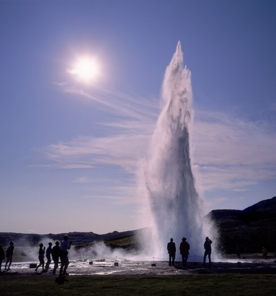 short layover in iceland, geysir day trip